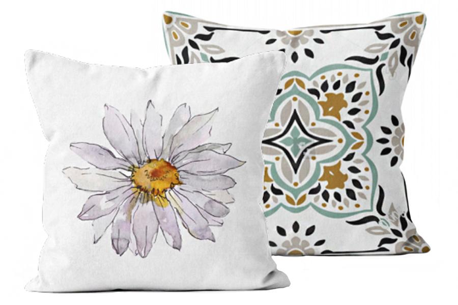 Daisy & Garden Tile