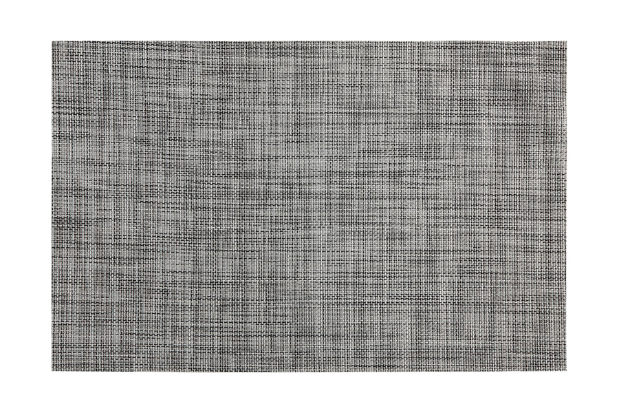 Placemat Crosshatch Grey