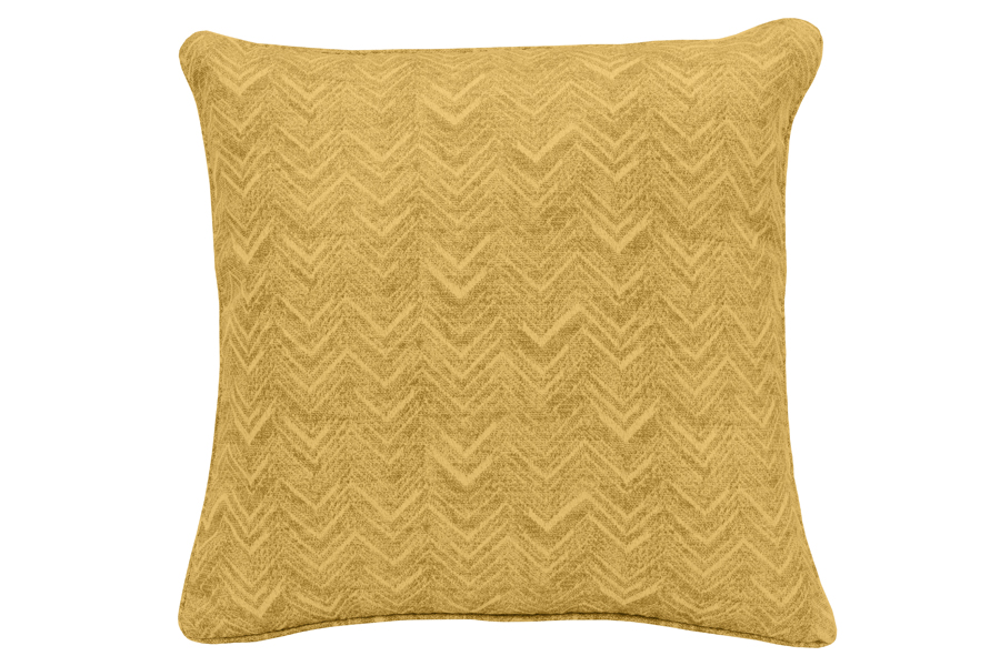 Sweet Chevron Yellow Pillow