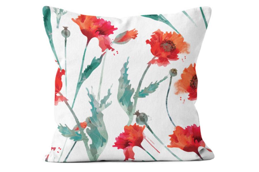 Watercolour Flower Poppy