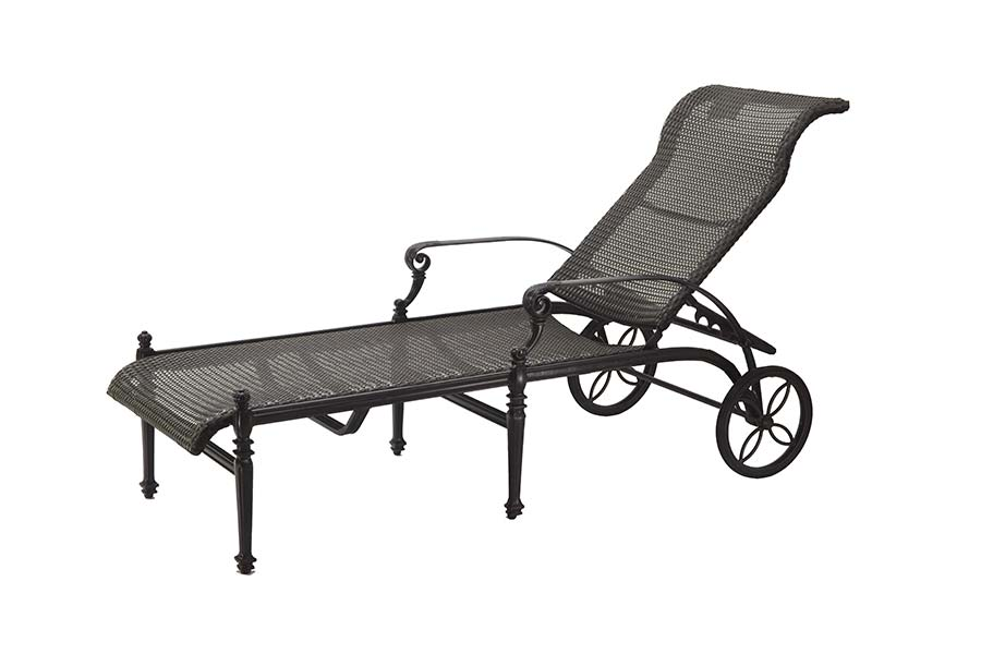 Woven Chaise Lounge