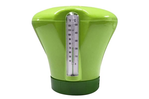 Green Chlorinator Dispenser & Thermometer