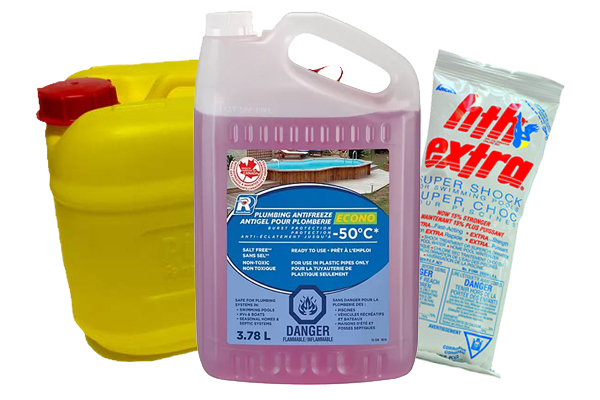 POOL CLOISING CHEMICALS