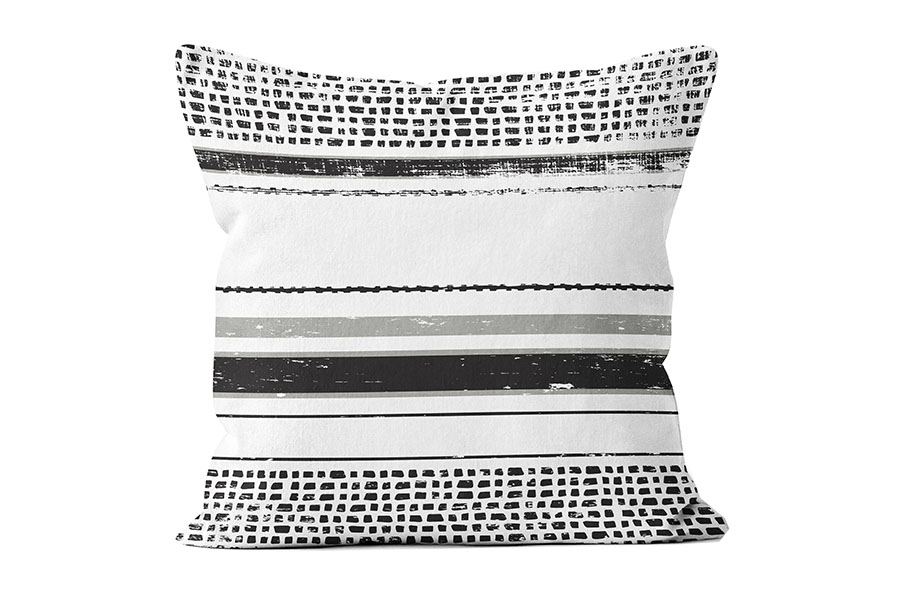 FAC-HHG2134BK-black-pindot-stripe-pillow
