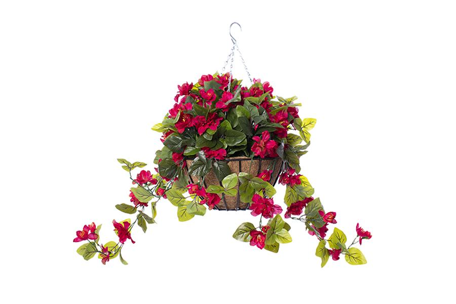 FUR-ARREXT223-HANGING-BASKET-BRIGHT-PINK-AZALEA-FLOWERS-MAIN